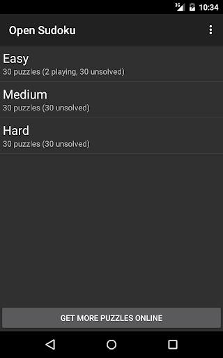Open Sudoku screenshots 9