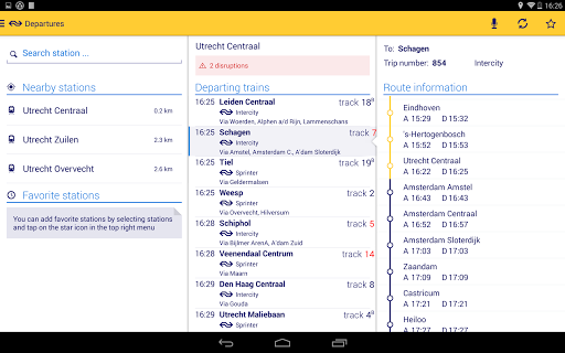 Reisplanner Xtra screenshot 9