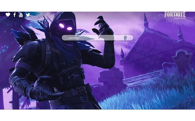 Raven Fortnite skin Wallpapers 4K