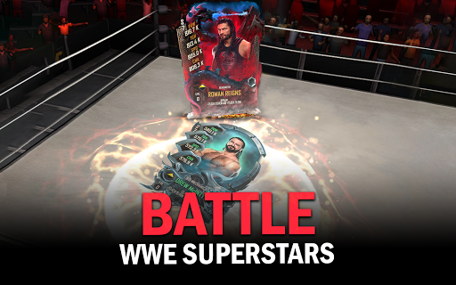 WWE SuperCard - Multiplayer Collector Card Game screenshot 8