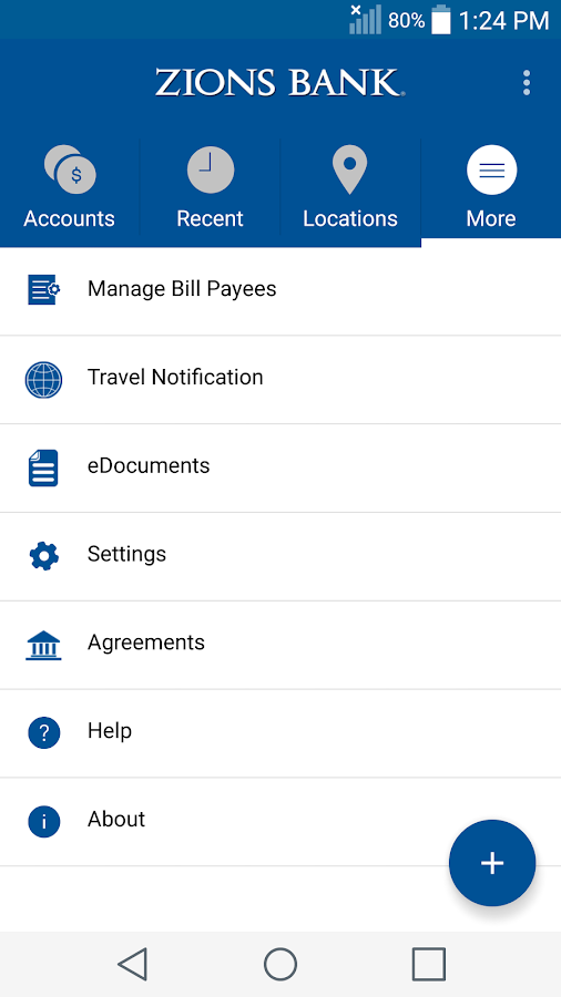 Zions Bank Mobile Banking- screenshot