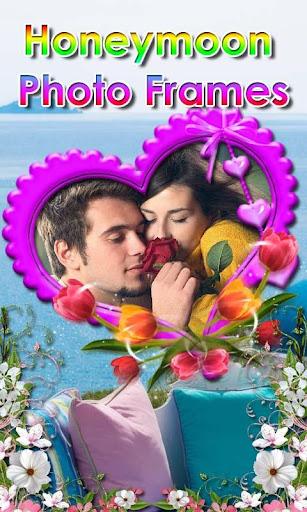 Honeymoon photo frame effects