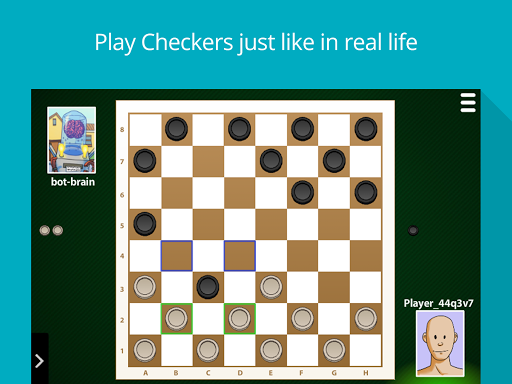 Checkers Online: Classic board game apktram screenshots 1