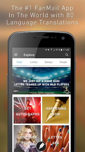 lettrs, The Autograph Reborn app (apk) free download for Android/PC/Windows screenshot