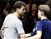 Derde keer; goede keer: David Goffin wint eindelijk eens van Grigor Dimitrov