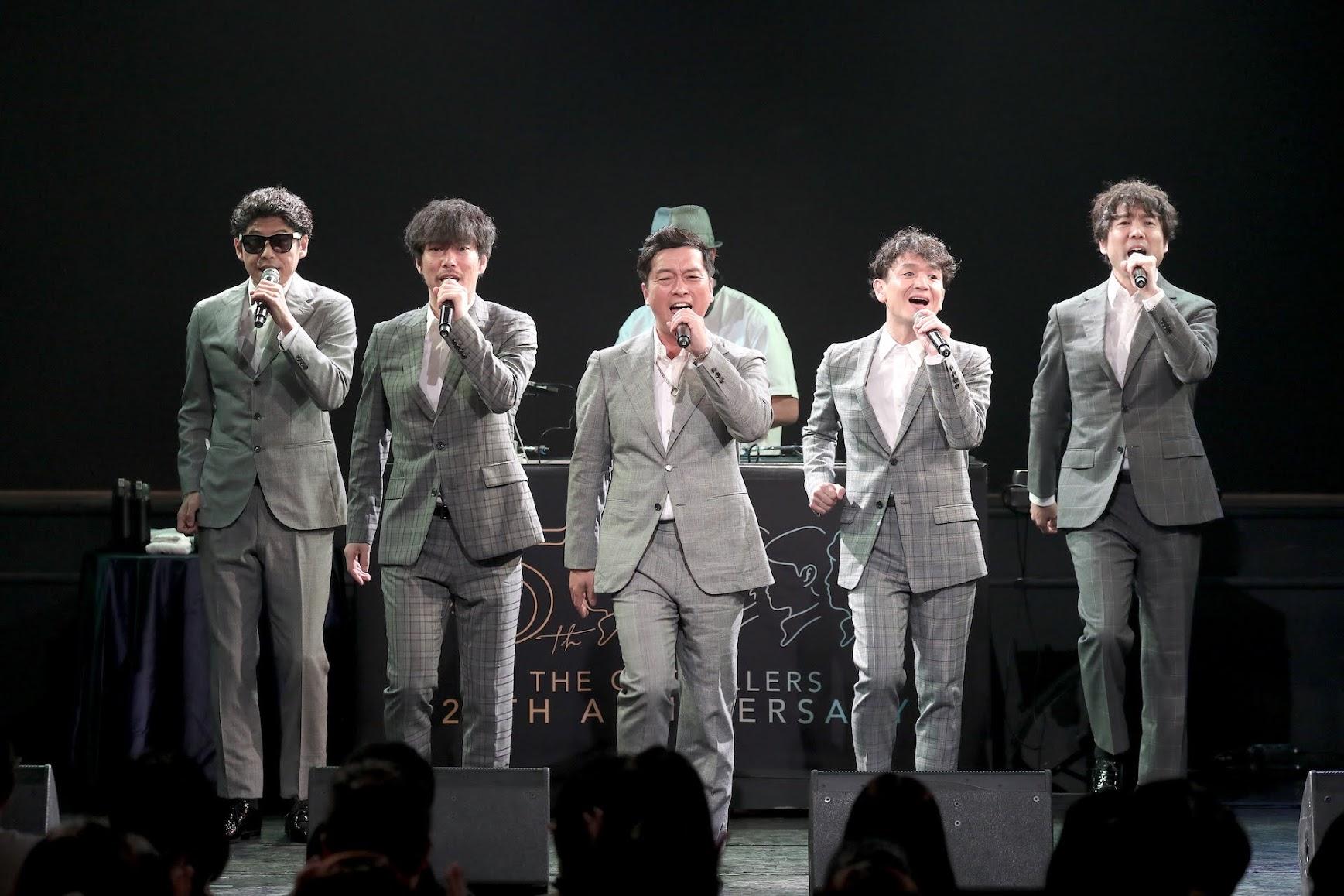 【迷迷現場】 The Gospellers 聖堂教父 睽違15年再現神級美聲  台灣歌迷「等太久!」