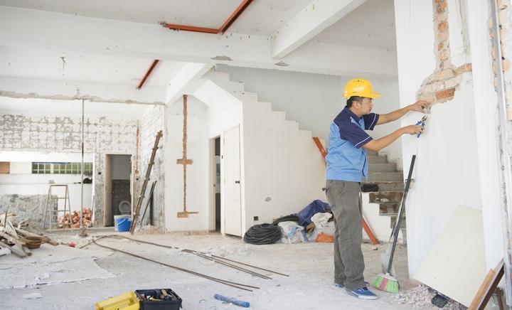 Dịch vụ sửa chữa nhà giúp ngôi nhà thêm khang trang hơn