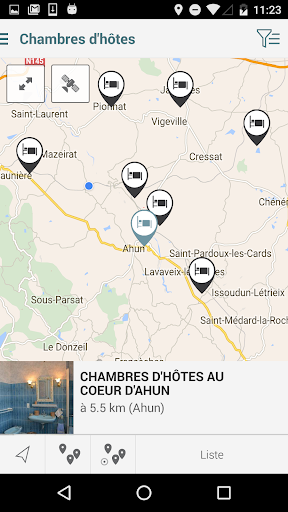Creuse Tour app (apk) free download for Android/PC/Windows screenshot