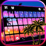 Sunset Beach 2 Keyboard Theme