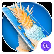 Summer Pineapple APUS Launcher theme APK