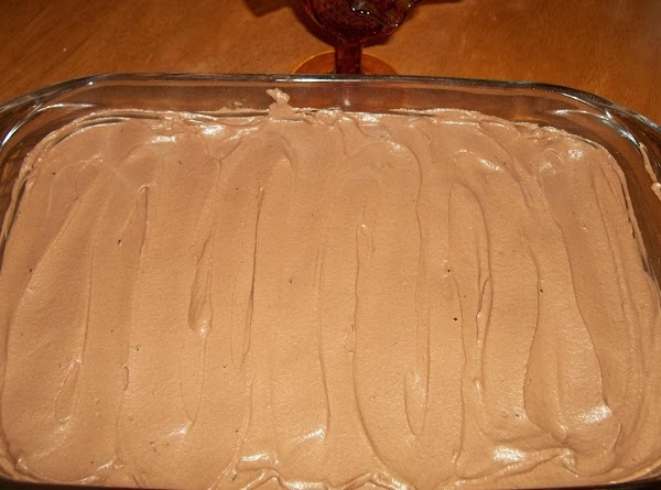 Spread over cooled brownies. Chill before cutting.