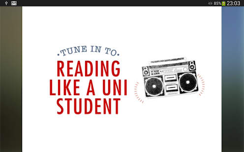 Uni Tune In- screenshot thumbnail