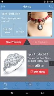 Shopping App Screenshot