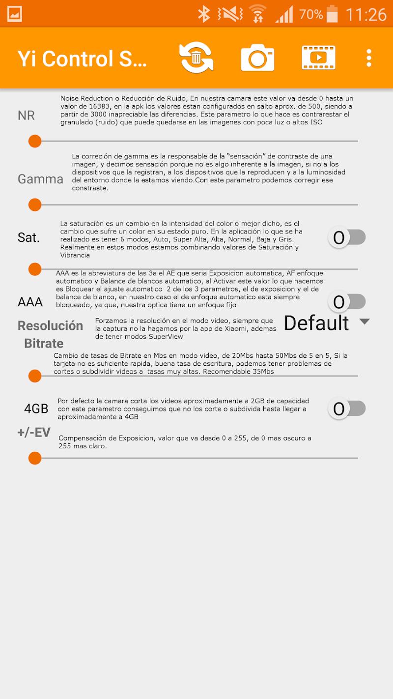 YI Control Script Pro Screenshot 6