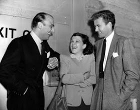 Photo: Johnny Green, Nancy Walker and Robert Walker