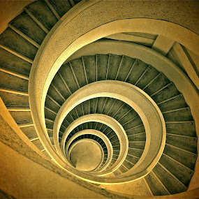 Vintage Spiral by Sim Kim Seong - Buildings & Architecture Other Interior