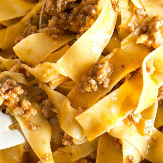 Lightened-Up Bolognese Sauce