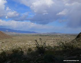 Photo: Borrego Springs from Borrego Palm Canyon