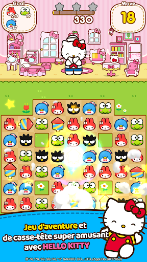 Hello Kitty Friends - Tap & Pop, Adorable Puzzles  captures d'écran 2