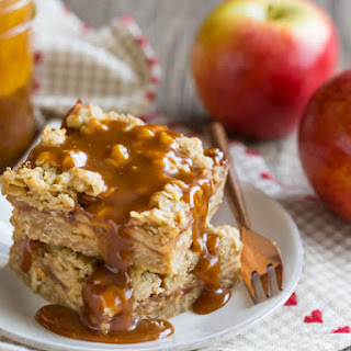 Caramel Apple Oatmeal Carmelitas