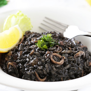 Black Risotto.