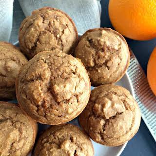 Orange Almond Muffins.