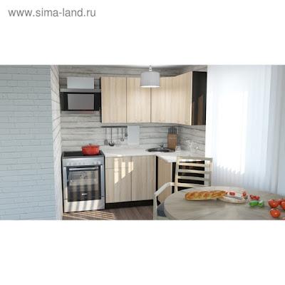 Кухонный гарнитур Симона прайм 1200*1400