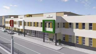Imagen virtual de la nueva instalación cuyas obras están  ya en la fase final.