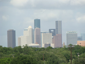 Photo: The skyline of downtown Houston.