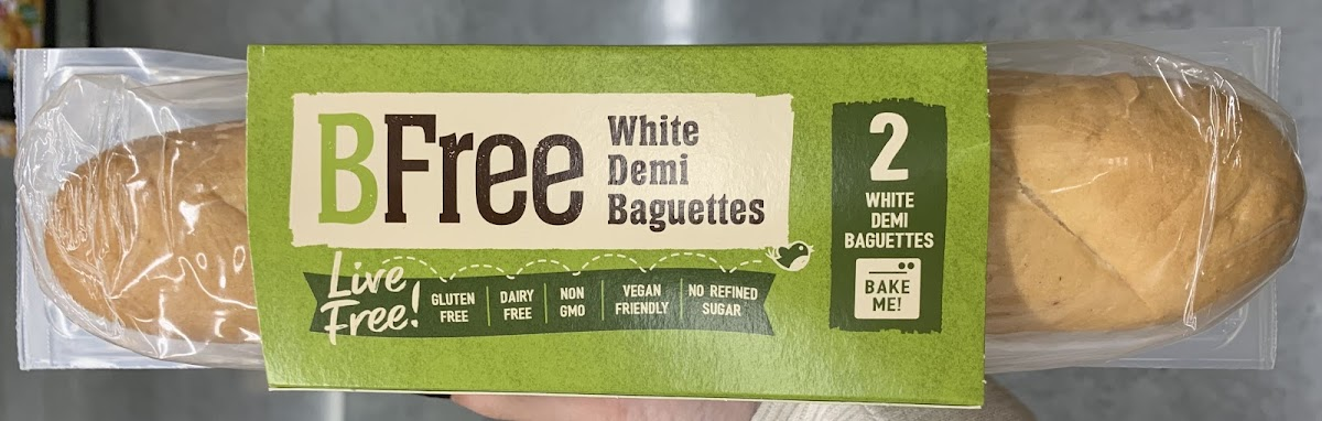 White Demi Baguettes