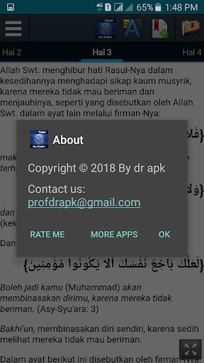Screenshot for Tafsir Ibnu Katsir Pro in Hong Kong Play Store