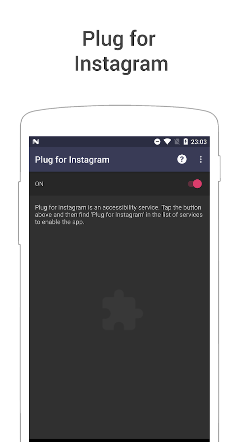 Plug for Instagram - Easy save- screenshot