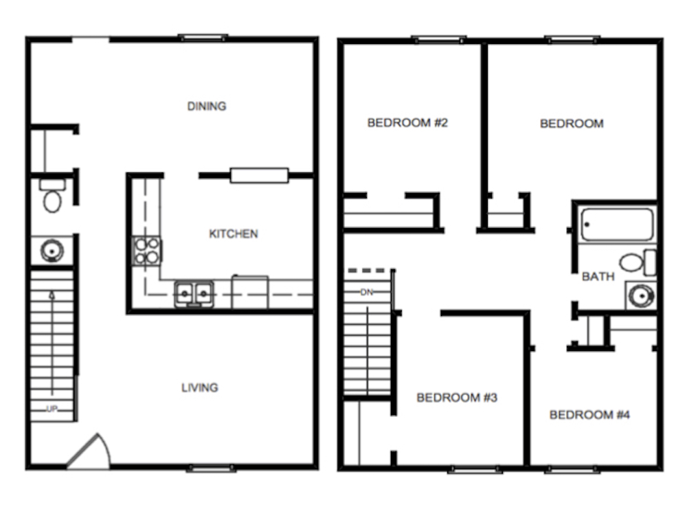 Harpers square apartments four bedroom townhouse - 4 bedroom apartments virginia beach ...