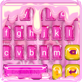 Pink Sweet Jelly Candy Keyboard Theme Android APK Download Free By Cool Keyboard Theme Designer