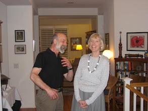 Photo: PROFESSOR THOMAS SCHWARTZ AND LILLIAN SAARI