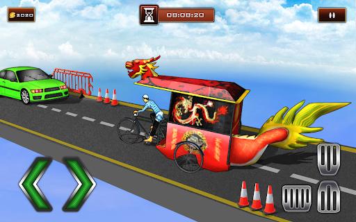 Bicycle Rickshaw Simulator 2019 : Taxi Game 3.2 com.bajake.rikshaw apkmod.id 4