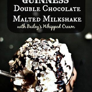 Guinness Double Chocolate Malted Milkshake.