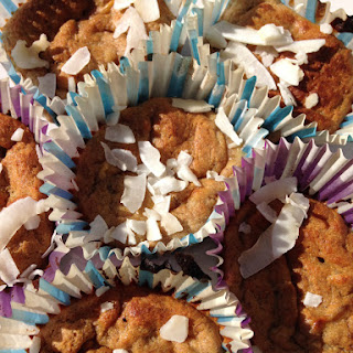 Rye And Coconut Flour Banana Muffins