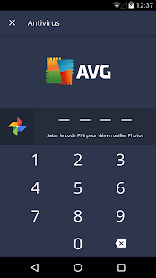 AVG Antivirus Android Gratuit 2018 Capture d'écran