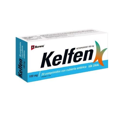 Ketoprofeno Kelfen 100 mg x 20 Comprimidos
