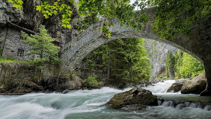 Fiume Orrido (Aosta) di Loreti Paolo