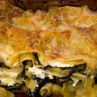 Winter Greens Lasagna.