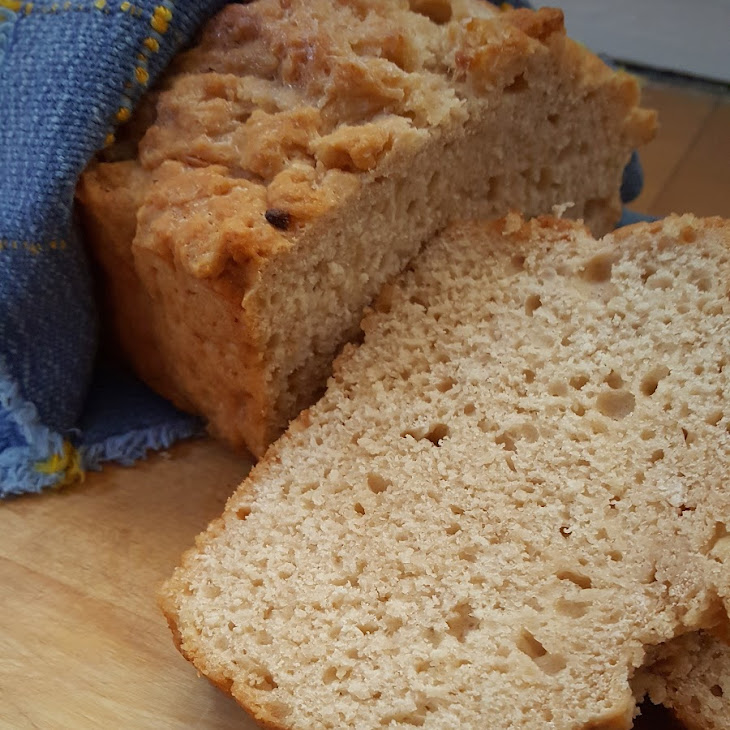 Beer & Roasted Garlic Quick Bread