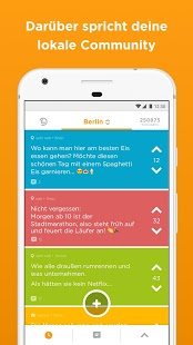 Jodel - Die hyperlokale App Screenshot