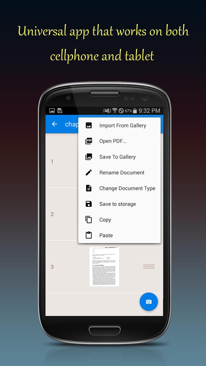 Fast Scanner : Free PDF Scan Screenshot 4