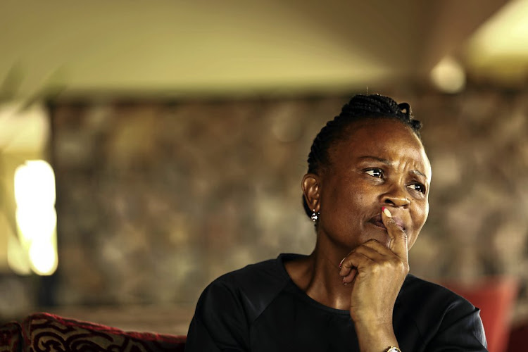 Public protector Busisiwe Mkhwebane has been summoned to court on a charge of perjury laid by Accountability Now director Paul Hoffman. File picture.
