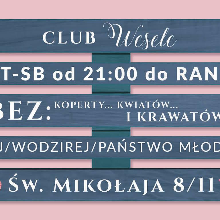 Club Wesele Wrocław Klub Muzyczny W Wrocław