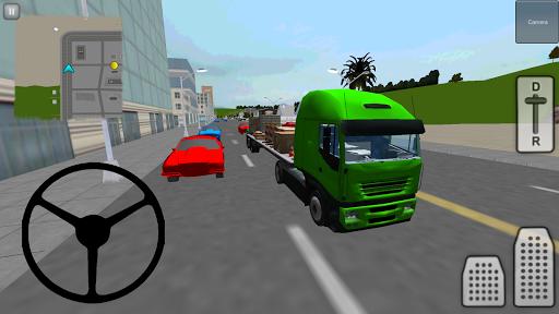 トラック運転手の3D:シティ