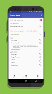 Simple Bixby- remap Bixby and screen record easily - náhled