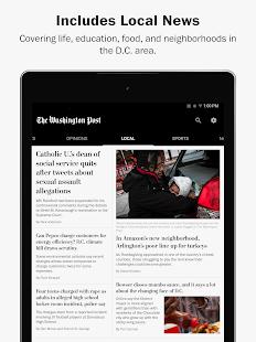 The Washington Post Screenshot